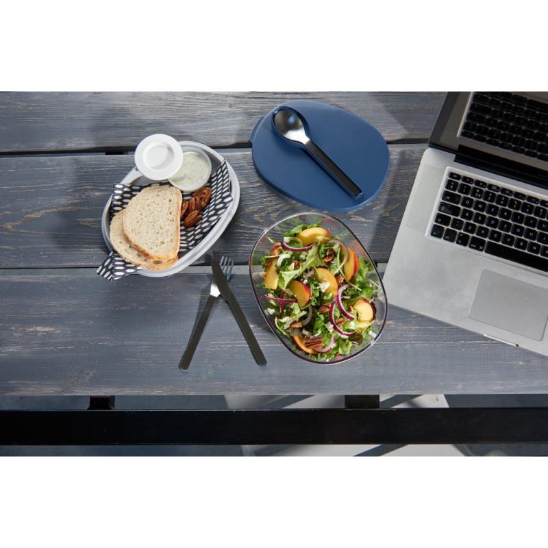 Ellipse saladbox Nordic Denim