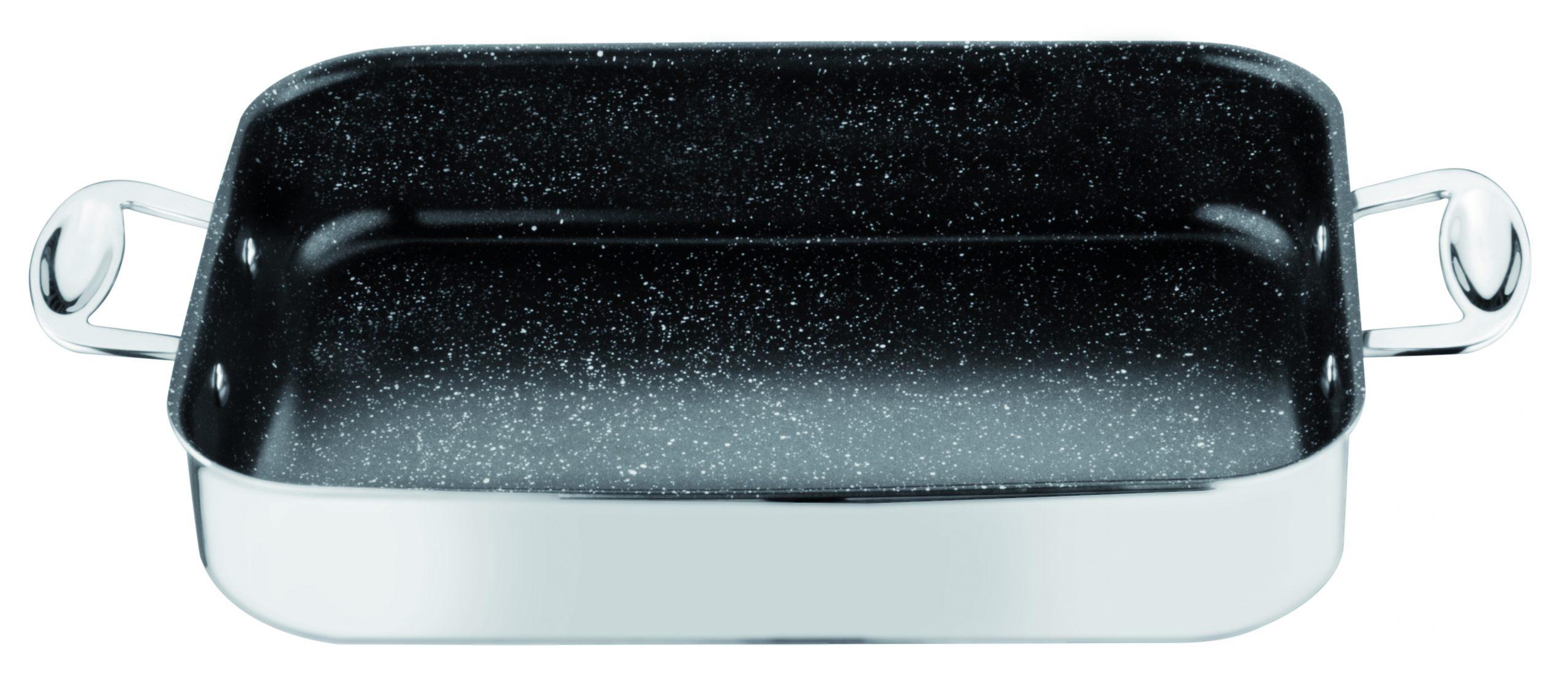 Lasagne schaal 'Glamour Stone' 35 x 25 cm