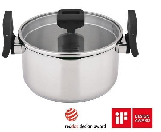 Carl Schmidt Sohn® Kookpan Lift & Pour 24 cm 6 liter